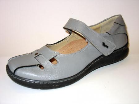 Dámská kožená obuv Peon vzor KB 920-6/šedá