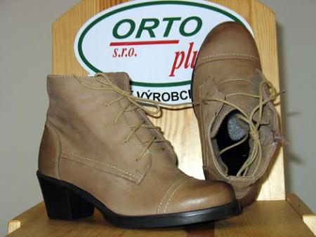 Dámská kotníková obuv vzor 674-347 podzim/zima