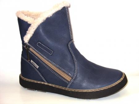 Orto Plus Dámská obuv Orto Plus  - modrá vzor